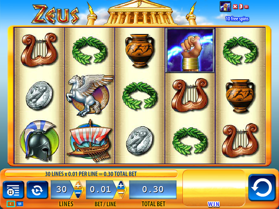 играть zeus онлайн