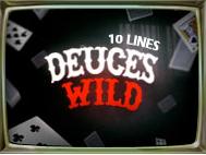 Deuces Wild 10 Lines